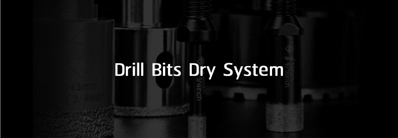 Drill Bits Dry system